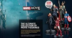 Heroes Assemble is an online comic shop with a wide range of collectable comic books, Eaglemoss figurines, CGC Signature Series, Dynamic Forces signed comics and comic storage supplies. Marvel Studios Movies, Marvel Movies, Brand Collection, Ultimate Collection, Comic Books, Hero, Messages, Comics, Movie Posters