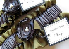 "Free Wedding Projects: Wedding Garter ""Keep"" and ""Toss"""