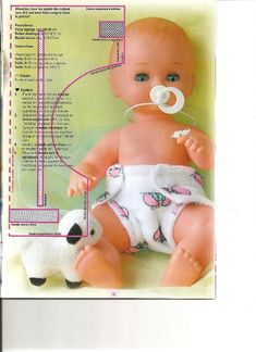 Clothes for dolls Sewing Doll Clothes, Crochet Doll Clothes, Sewing Dolls, Baby Dolls For Toddlers, Baby Cardigan Knitting Pattern Free, Baby Born Clothes, Baby Doll Accessories, Doll Dress Patterns, Baby Alive