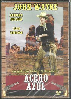 DVD - ACERO AZUL - JOHN WAYNE - DIRIGIDA POR R.N. BRADBURY - NUEVO - PRECINTO…