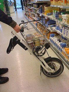 my strida shopping cart