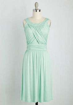 So Happy to Gather Dress in Mint, #ModCloth