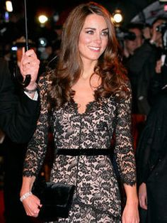 Kate Middleton at the War Horse premiere in January, 2012.