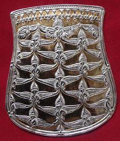 A szolyvai tarsolylemez Medieval Belt, Belt Pouch, Hungary, Vikings, Folk Art, Bronze, History, Silver, Pattern
