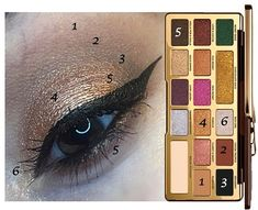 Too Faced released this delicious looking eyeshadow palette! so many colorful shades for tons of makeup look inspiration and designs! This palette is such beauty goals! Gold Palette, Makeup Palette, Eyeshadow Palette, Eyeshadow Ideas, Eyeshadow Tutorials, Makeup Tutorials, Makeup Tips Natural Look, Eye Makeup Tips, Makeup Products