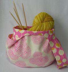 Knitting bags, Wristlets and Knitting