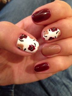 Autumn Nails #autumncovered loving these nails