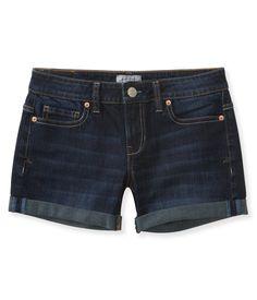 NEW! Dark Wash Denim Midi Shorts from Aeropostale