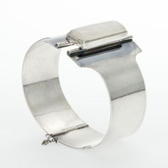 Mauno Honkanen for Tillander, Vintage silver bracelet with snow quartz, 1962. #Finland   Bukowskis.com
