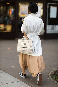 The Best Street Style From Paris Fashion Week - The Cut