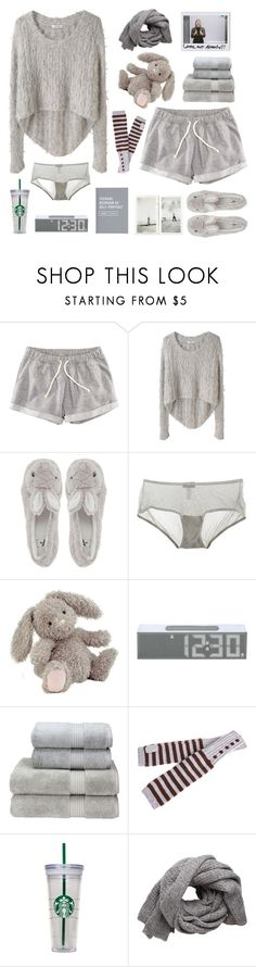 """""""Untitled #557"""" by keziakaligis ❤ liked on Polyvore featuring H&M, Helmut Lang, Novelty, Cosabella, Jellycat, LEXON, Christy, Pieces, women's clothing and women's fashion"""