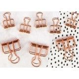 Shop for My Prima Planner Mini Binder Clips Gold Wire, 5 S - rose gold wire, 5 small & 3 large. Get free delivery On EVERYTHING* Overstock - Your Online Scrapbooking Shop! Binder Clips, Planner Supplies, Scrapbook Supplies, Junk Drawer Organizing, Organizing Life, Prima Planner, Unique Office Supplies, Mini Binder, Artist Supplies
