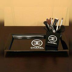 Custom Designed Acrylic Black Tray Custom Designed Acrylic Black Tray with White letters. Accessories