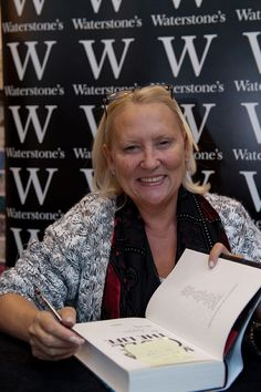 Best selling crime writer Martina Cole.
