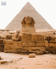 Great Sphinx and pyramid - Gizah, Egypt Top 10 Destinations, Pyramids Of Giza, Ancient Ruins, Osho, Africa Travel, Natural Wonders, Monument Valley, Nikon, Like4like