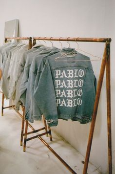 pablo jean jacket