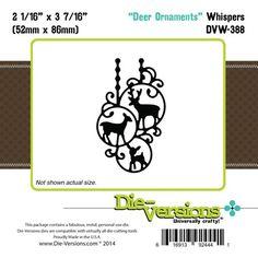 Die-Versions - Whispers - Deer Ornaments