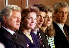 John Kennedy Jr. Wedding | Ted Kennedy, Jaqueline Kennedy Onassis, John F. Kennedy Jr., Caroline ...