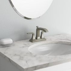 KOHLER Rubicon 4 in. Centerset 2-Handle Bathroom Faucet in Vibrant ...