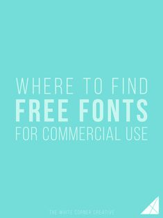 Visiting a free fonts website and downloading something doesn't necessarily mean the font is free for everything, make sure you know the difference.