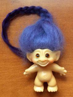 Vintage Dam Troll Doll
