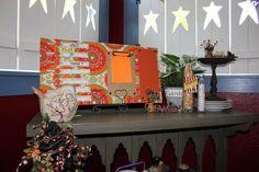Orange Sunburst Menu Board by TheKraftyNikNaker on Etsy, $34.99 shipping included!!!