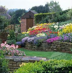 hillside retaining wall - Google Search