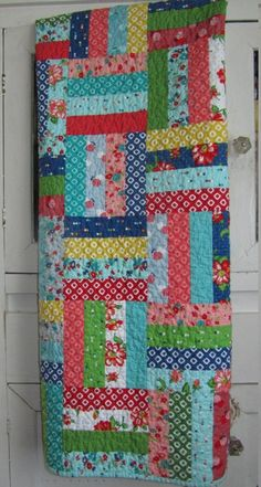 """By the Piece 18+/"""" Long Tractor-Theme Quilt Cotton V01"""