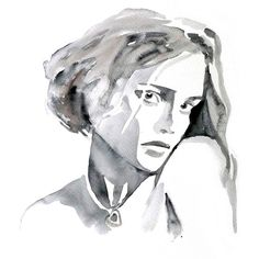 Original Watercolor Painting 13x19 artwork woman fashion illustration... ($125) ❤ liked on Polyvore featuring home, home decor, wall art, art, drawings, people, sketches, backgrounds, portrait painting and unframed wall art