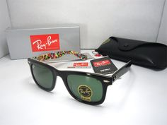 2011 Cheap Ray Ban Sunglasses RB2140 1020 in black with glass le