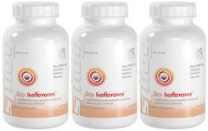 Soy Isoflavones Cardio And Menopause Support Soy Isoflavone Extract 150mg 270 Capsules 3 Bottles by New You Vitamins. $29.85. Soy has been a main food in Asian countries for many years. This is because they are very nutritious: they contain about 36% protein, 18% fat, 30% carbohydrates, isoflavones and a lot of minerals and vitamins. All eight essentials amino acids are present in the soybean, which makes the soybean protein a complete protein. The role of soy in the pre...