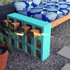 Cool! Make ur own outside bench