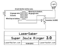 Super Joule Ringer 3.0 | Laser Hacker Alternative Energy