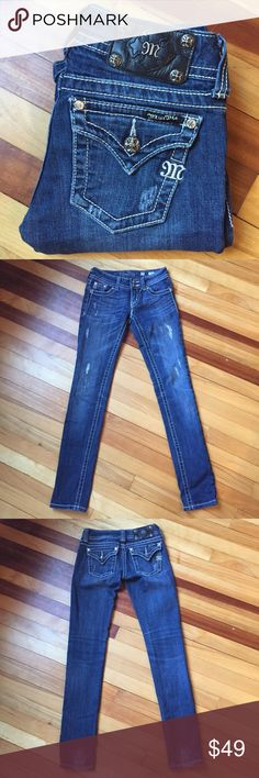 Selling this Miss Me Distressed Skinny Jeans on Poshmark! My username is: davias_closet. #shopmycloset #poshmark #fashion #shopping #style #forsale #Miss Me #Denim