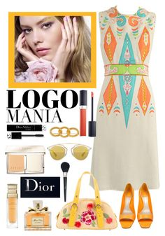 """Untitled #466"" by veronica7777 ❤ liked on Polyvore featuring Christian Dior"