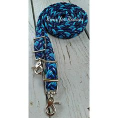 Navy, winter camo and Turquoise adjustable riding reins
