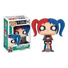 FUNKO POP! DC SUPER HEROES HARLEY QUINN THE NEW 52