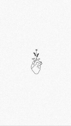 Mini Drawings, Pencil Art Drawings, Easy Drawings, Tattoo Drawings, Art Sketches, Mini Tattoos, Flower Tattoos, Body Art Tattoos, Small Tattoos