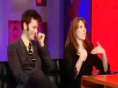 David Tennant giggling...best 7 seconds ever.