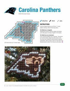 CAROLINA PANTHERS ORNAMENT/MAGNET