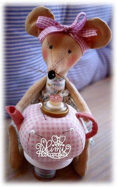 Mimi Haraposita, muñecas de tela hechas a mano.: ACERICA.