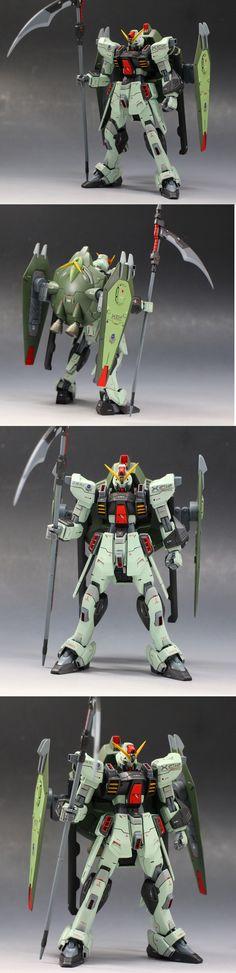 kazu462384's Amazing 1/144 FORBIDDEN GUNDAM Remodeled: Full Photo Review, Comparison, WIP, Info