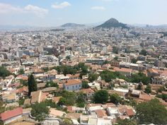 Athens from the Acropoli