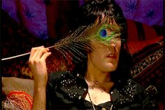 Noel Fielding as Vince Noir in an episode of The Mighty Boosh.