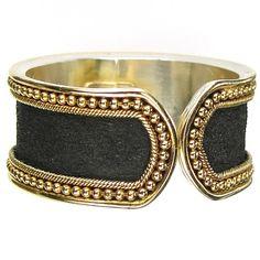 Byzantine Ring Border Hammered Band Ring by ParthenonGreekJewelr