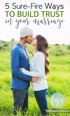 Are you looking for some ways to continue to build trust in you marriage? If so, here are 5 Sure-Fire Ways to Build Trust in Your Marriage. :: http://fulfillingyourvows.com