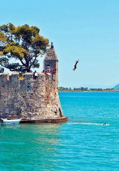 Nafpaktos, Aetoloakarnania, Greece