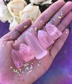 Pink Gemstones, Crystals And Gemstones, Stones And Crystals, Gem Stones, Crystal Decor, Crystal Jewelry, Crystal Magic, Crystal Healing, Crystals Minerals