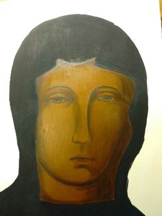 Madonna, Mother Mary, Saints, Lady, Painting, Shop Signs, Virgin Mary, Painting Art, Blessed Virgin Mary