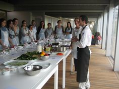 Cooking workshop with Stéphane Poussardin